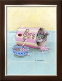 Junk Food Junkie Framed Giclee Print by Gary Patterson
