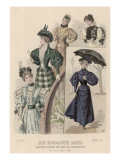 Elegant Dress of 1896 Giclee Print by Philip Talmage