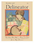 Delineator Cover December 1926 Giclee Print