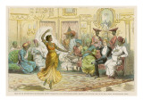 Dancer and Bombay Staff Giclee Print
