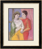 Masterworks of Art - The Lovers Posters by Pablo Picasso