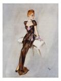 Fine Leg Giclee Print by David Wright