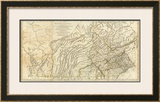 Map of Pennsylvania, c.1776 Framed Giclee Print by Thomas Jefferys