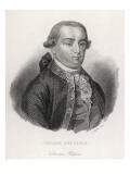 Cesare Bonesana, Marchese Di Beccaria Italian Economist and Jurist Giclee Print