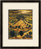 HARVEST MOON Limited Edition Framed Print by CHARLES MONTEITH WALKER