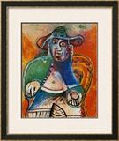 Vieil Homme Assis Mougins, c.1970 Prints by Pablo Picasso