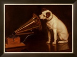 His Masters Voice Posters by Francis Barraud