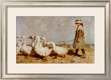 To Pastures New Prints by Sir James Guthrie