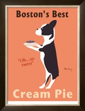 Boston's Best Limited Edition Framed Print by Ken Bailey