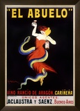 El Abuelo, Vino Rancio de Aragon Framed Giclee Print by Leonetto Cappiello