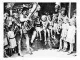 Children Listening to a Tuba Player, Berlin, 1945 Giclee Print