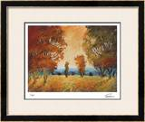 Golden Walk II Limited Edition Framed Print by Michael Tienhaara