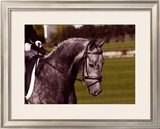Competition Time Framed Giclee Print by Sara Stafford
