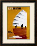 Lloyd Triestino Framed Giclee Print by  Batistella