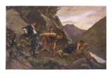 Charles Stuart in Hiding Giclee Print