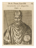 Charlemagne King of the Franks and Holy Roman Emperor Giclee Print
