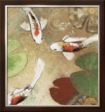 Koi Fest I Limited Edition Framed Print by Aleah Koury