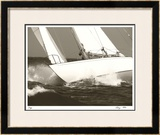 Gleam Racing II Limited Edition Framed Print by Cory Silken