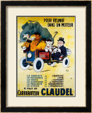 Carburateur Claudel Framed Giclee Print by Mich (Michel Liebeaux)