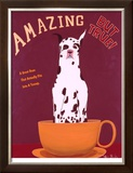 Amazing But True - Great Dane Limited Edition Framed Print by Ken Bailey