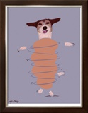 Jack Russell - Do You Want To Go For A Walk Limited Edition Framed Print by Ken Bailey