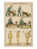 Diagram to Show Methods of Curative 'Gentle Exercise' Giclee Print