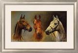 We Three Kings Prints by Susan Crawford