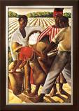 Cotton Pickers Prints by Earle Wilton Richardson