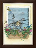 Frustration Framed Giclee Print by Gary Patterson