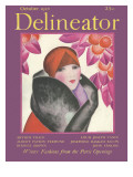 Delineator Cover, October 1927 Giclee Print