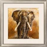 Elephant Art by Olga Ilic