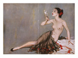 April, 1953 Giclee Print by David Wright