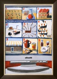 Olivetti Network And System Posters by  Bimfield
