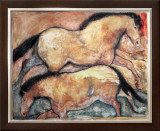 Primal Skin Crossing I Prints by Carol Grigg