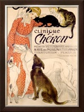 Clinique Cheron, c.1905 Framed Giclee Print by Th&#233;ophile Alexandre Steinlen