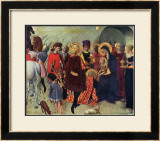 Adoration of the Magi Print by  Sassetta