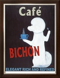 Bichon Cafe Limited Edition Framed Print by Ken Bailey