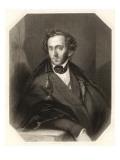 Felix Mendelssohn German Composer Giclee Print