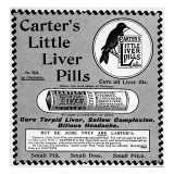Carter's Little Liver Pills, 'to Cure All Liver Ills' Giclee Print