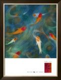 Koi Zen I Posters by Lun Tse