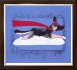 Super Shepherd Limited Edition Framed Print by Ken Bailey