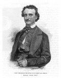 Edgar Allan Poe American Writer Giclee Print