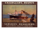 Chargeurs Reunis Shipping Giclee Print