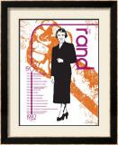 Ayn Rand Print by Jeanne Stevenson