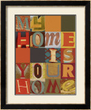 My Home is Your Home Art by M.J. Lew