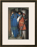 Meeting on the Turret Stairs Prints by Frederick William Burton