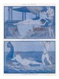 Erotic Night Scenes Giclee Print