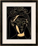 Femme au Chapeau Fleuri Posters by Pablo Picasso