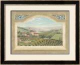 Vineyard Window II Art by Joelle McIntyre