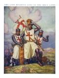 Crusaders See Jerusalem Giclee Print